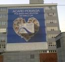 Wykonanie baneru wielkoformatowego Polfa Warszawa