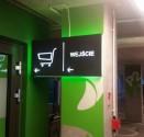 Wykonanie oznakowania galerii Zielone Arkady w Bydgoszczy