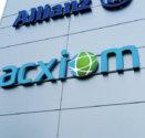 Logotypy Acxiom i Nowy Styl Group