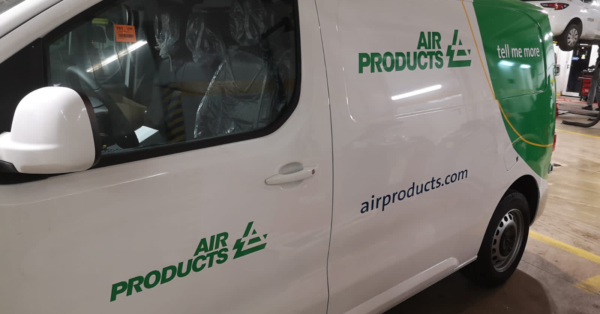 Air Products oklejenie