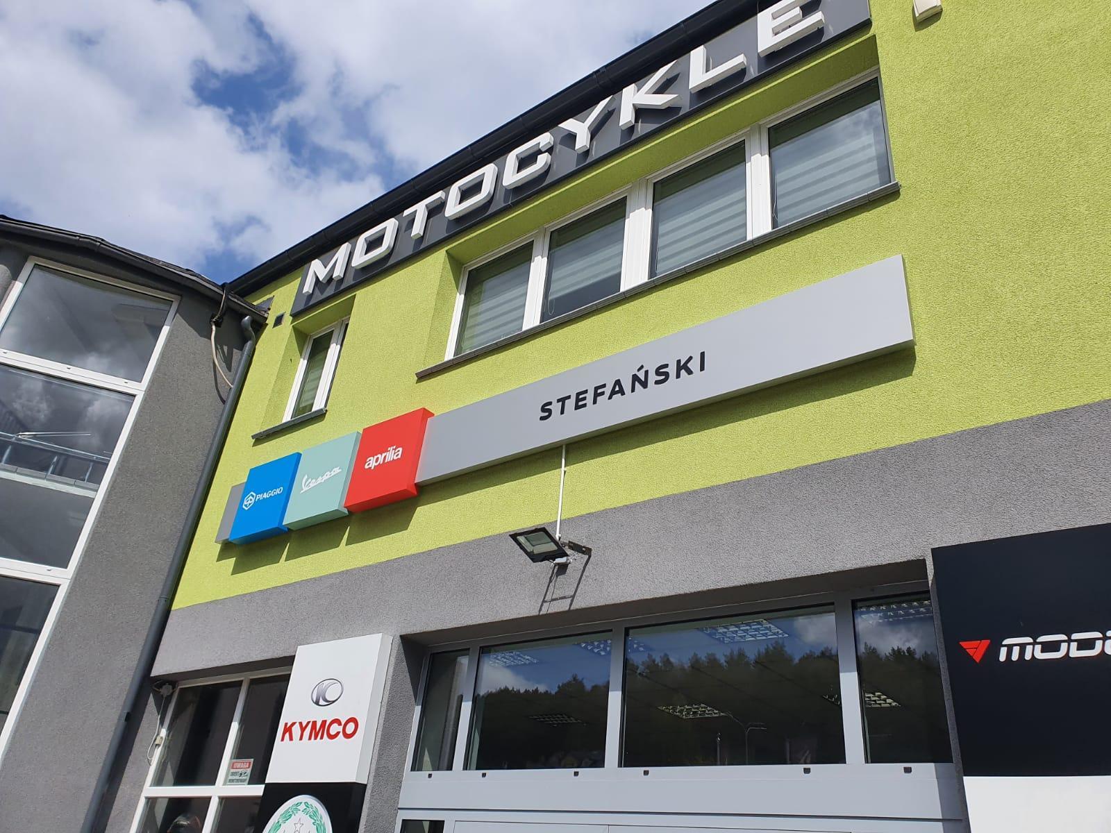 Motocykle Stefanski kaseton